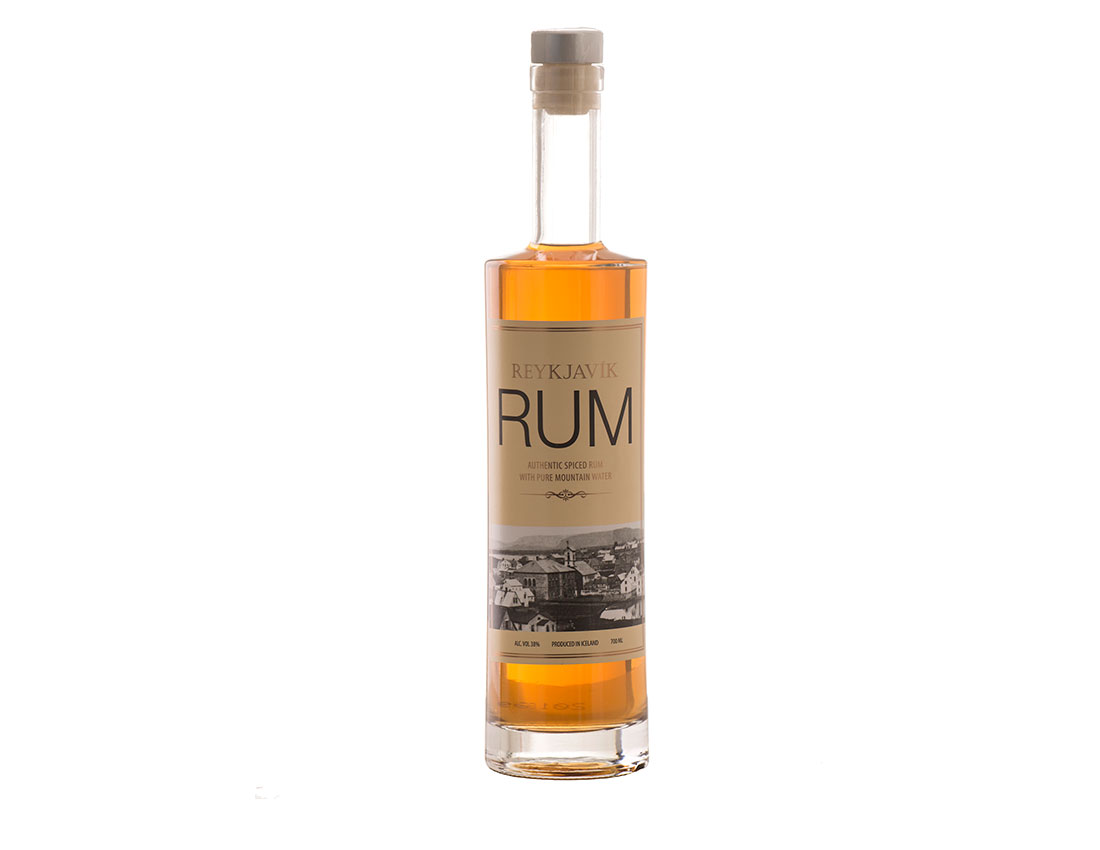 Reykjavik Rum - Authentic Spiced Rum with pure mountain water